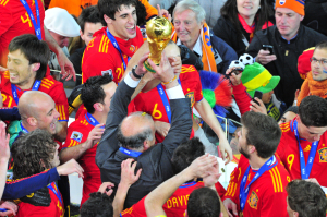 Can you emulate world champions Spain with your football-themed content?