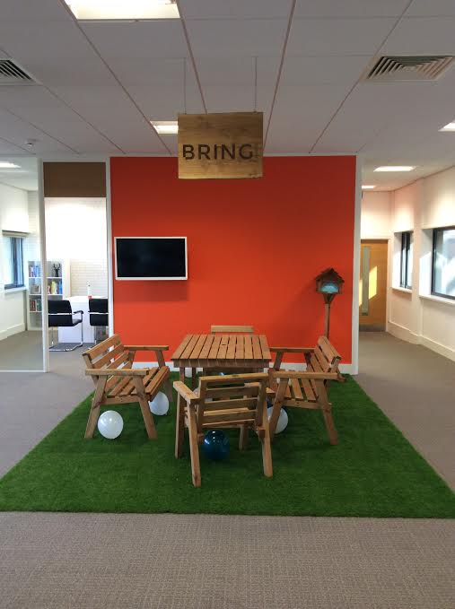 The new Bring Digital office