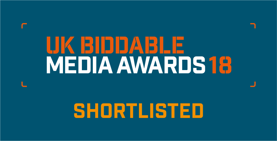 UK Biddable Media Awards 2018 - Shortlisted