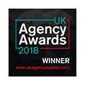 UK Agency Awards 2018 Winner Badge