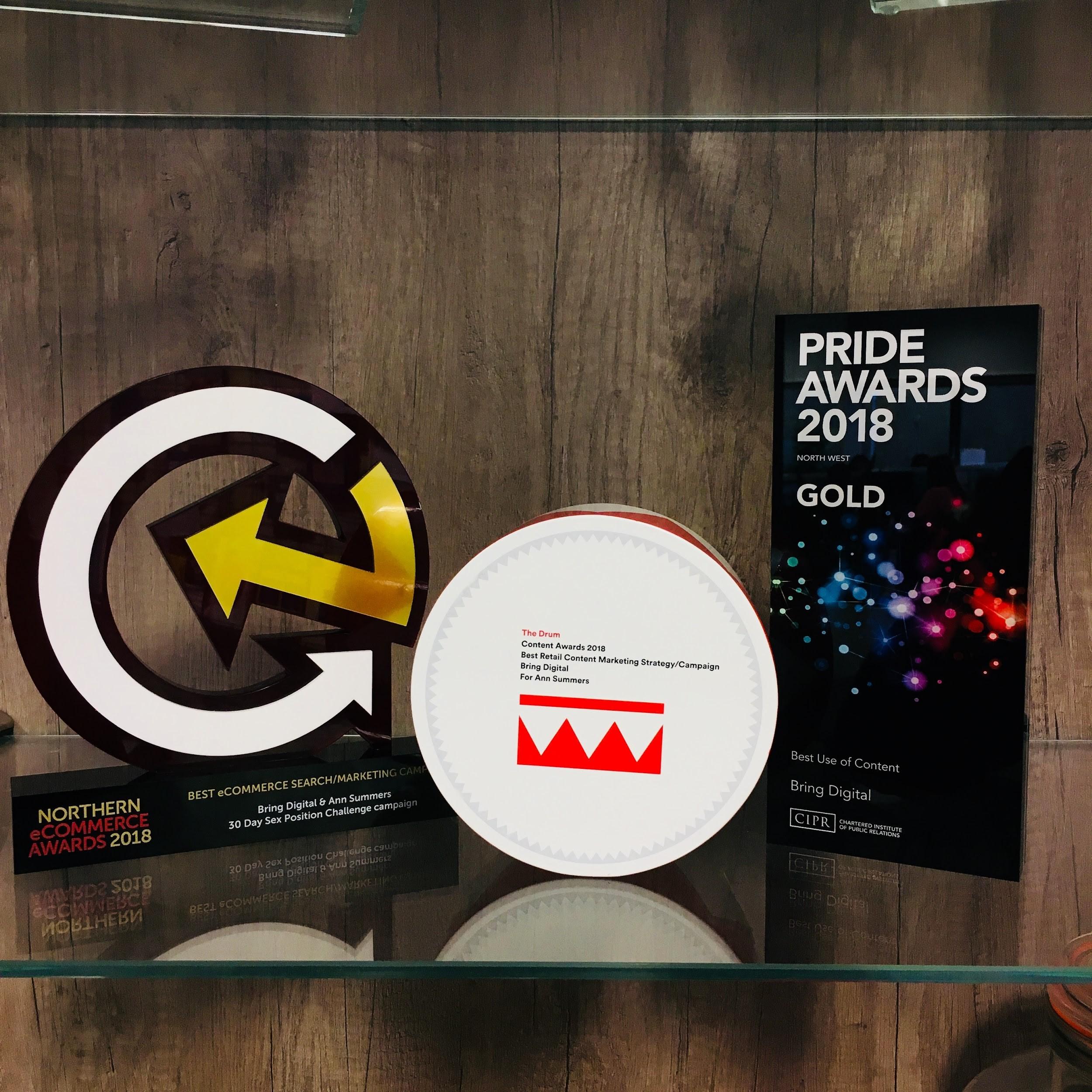 3 awards for Bring Digital