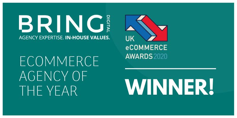 Bring Digital wins UK eCommerce Agency of the Year